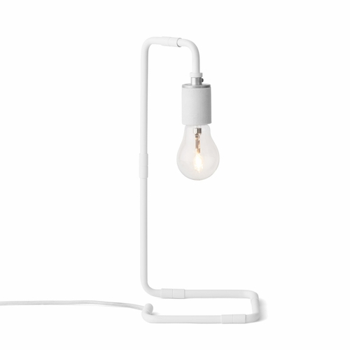 Reade Table Lamp, White