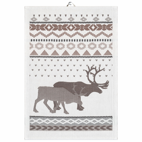 Ekelund Weavers Renar Tea Towel, 14 x 20 inches