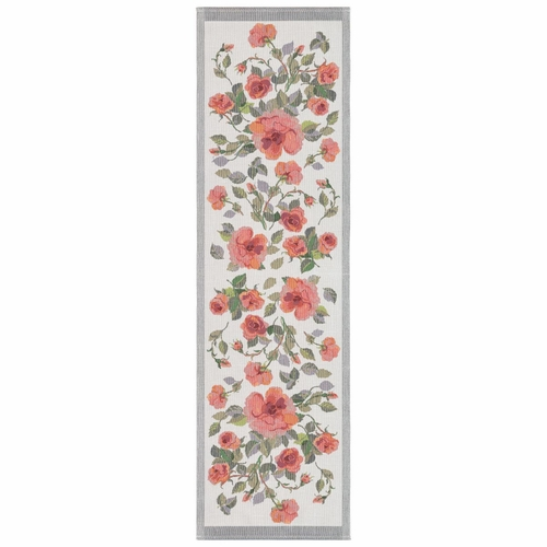 Rose Table Runner 14 x 47 inches