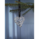 Rosendahl Leaf Heart, Silver-Plated - Sold Out