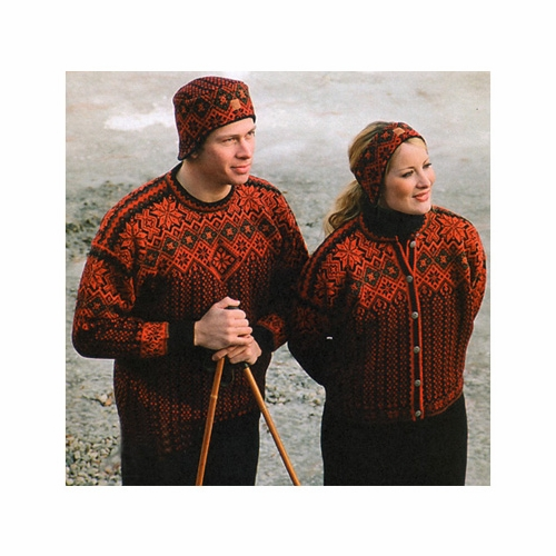 Selbu Fjellrosa Sweater - Norway