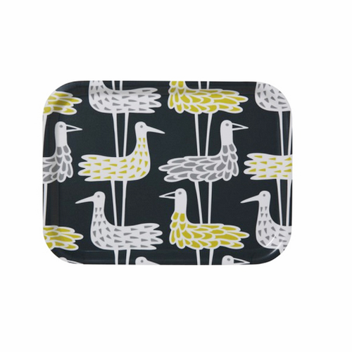 Shore Birds Blue Tray Small