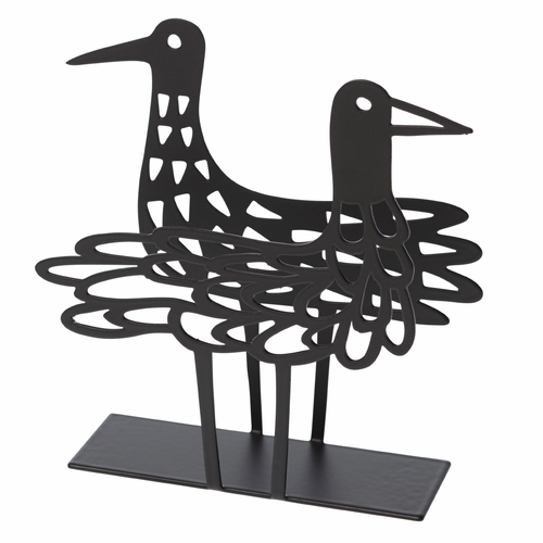 Bengt & Lotta Shorebird Napkin Holder, Black