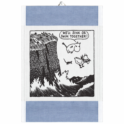 Sink Or Swim Tea Towel, Small