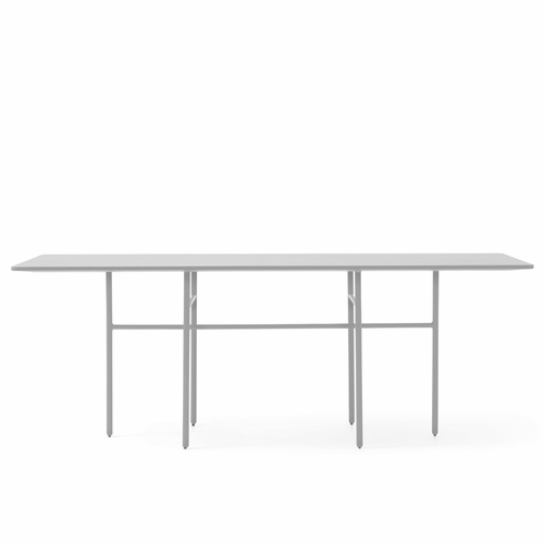 Snaregade Rectangular Table, Light Grey