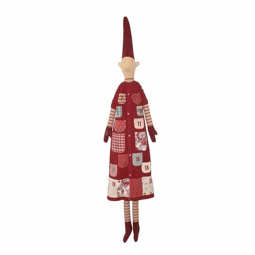 SOLD OUT Danish Advent Calendar Pixy - Red Girl