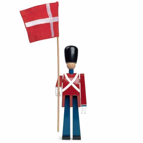Rosendahl Standard Bearer with Textile Flag - by Kay Bojesen