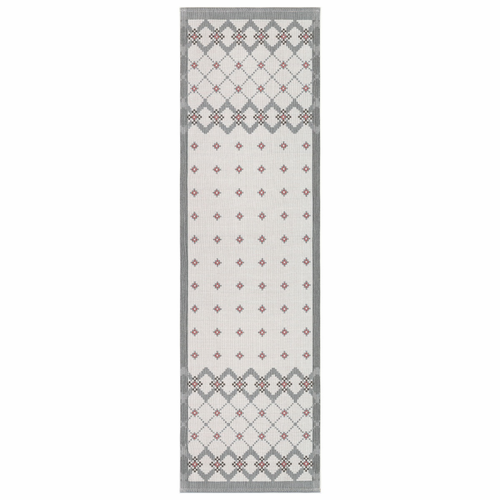 Stickat Table Runner, 14 x 47 inches