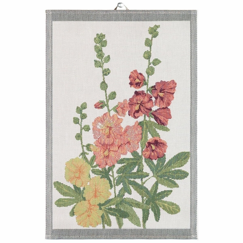 Stockrosor Tea Towel, 16 x 24 inches