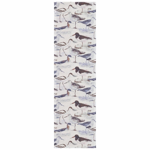 Strandfagel Table Runner, 14 x 47 inches