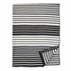 Stripe Organic Brushed Cotton Blanket