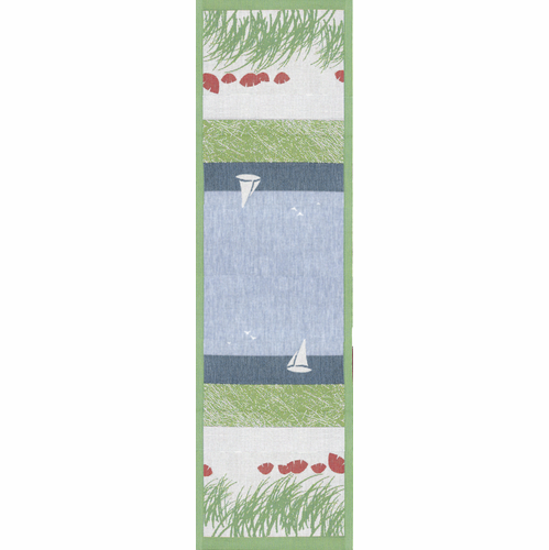 Ekelund Weavers Summer Table Runner, 14 x 47 inches