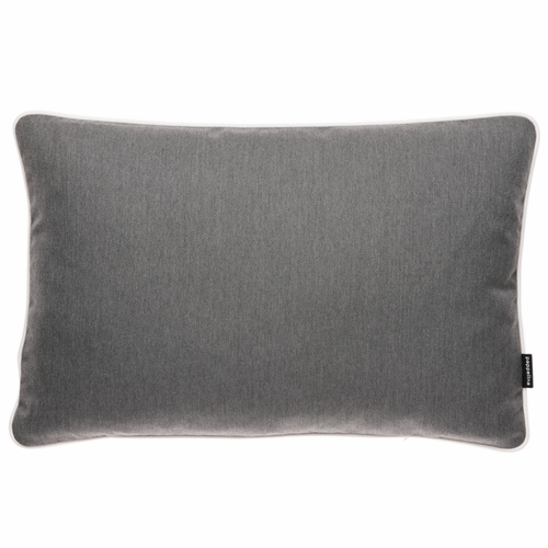 "Pappelina Sunny Dark Grey Outdoor Cushion - 15"" x 23"""