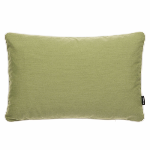 "Pappelina Sunny Olive Outdoor Cushion - 15"" x 23"""