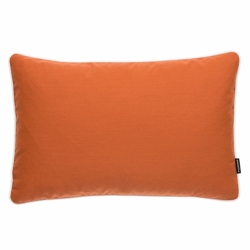 """Pappelina Sunny Pale Orange Outdoor Cushion - 15"""" x 23"""""""