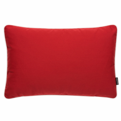 """Pappelina Sunny Red Outdoor Cushion - 15"""" x 23"""""""