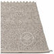 Svea Plastic Rug - Mud Metallic/Mud, 6' x 8 1/2'