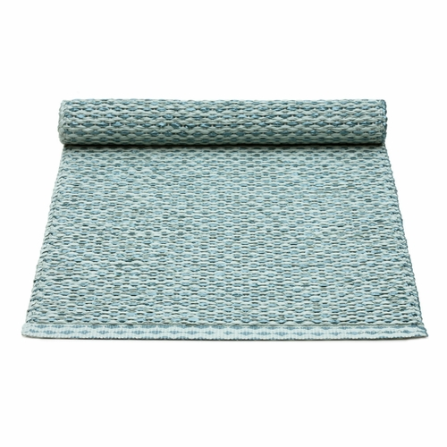 Pappelina Svea Plastic Table Runner - Azurblue Metallic