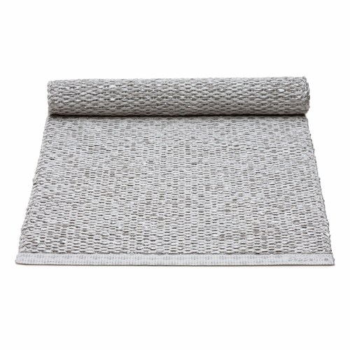 Pappelina Svea Plastic Table Runner - Grey Metallic