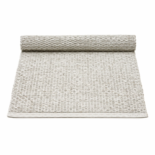 Pappelina Svea Plastic Table Runner - Stone Metallic