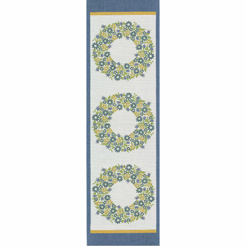 Sverigekrans Table Runner, 14 x 47 inches