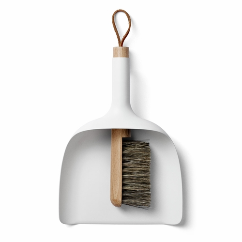 Sweeper & Funnel, White