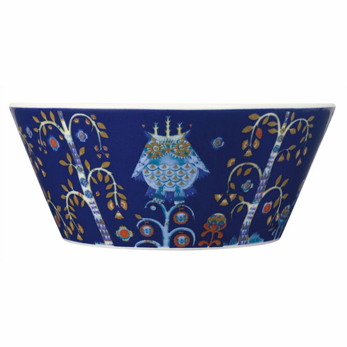 "Taika Soup/Cereal Bowl 4.75"" (10 oz) Blue"