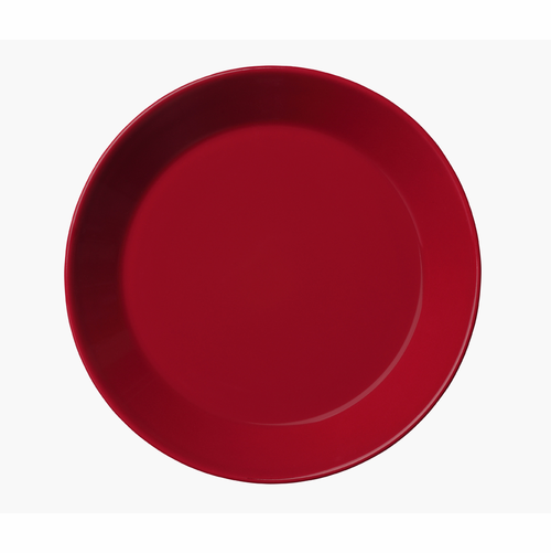 "Teema Bread & Butter plate 6.75"" Red"