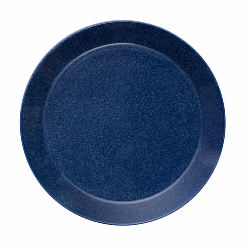 "Teema Dinner Plate 10.25"", Dotted Blue"