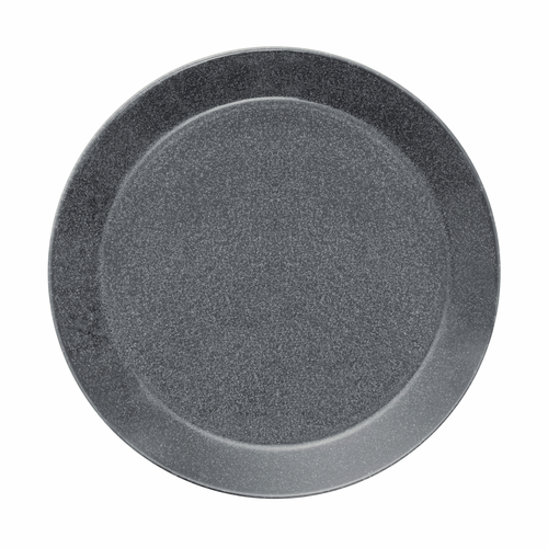 "Teema Dinner Plate 10.25"", Dotted Grey"