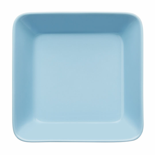 "Teema Square Plate 6.25"", Light Blue"