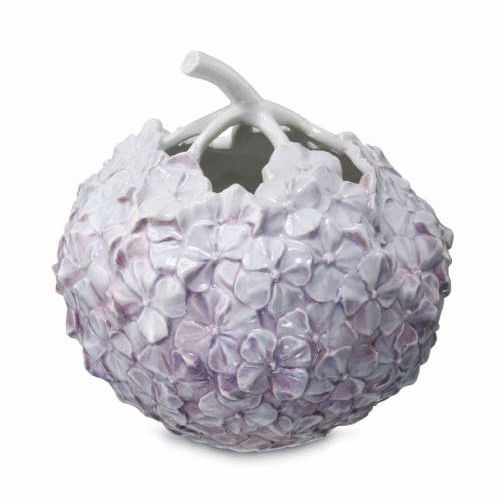 "The Art of Giving Flowers Hydrangea Vase 4"" Lilac"