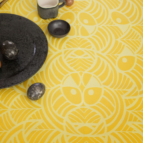 The Easter Tablecloth, Yellow