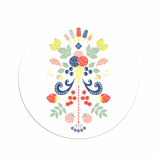 Tinas Sommar Tray, 8 Inches