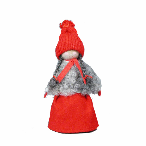 Tomte Girl with Braids