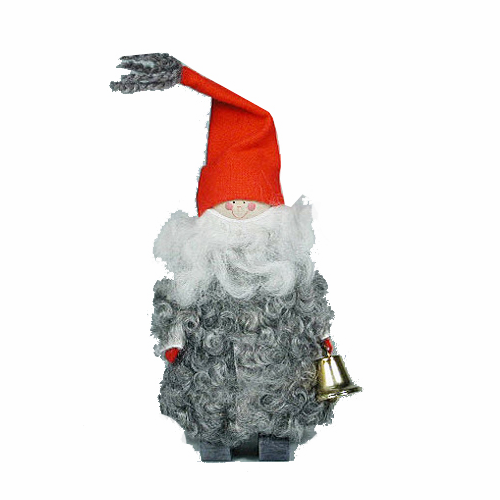 Tomte With Bell - Made in Sweden
