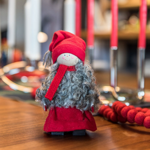 Tomte with Scarf - Made in Sweden