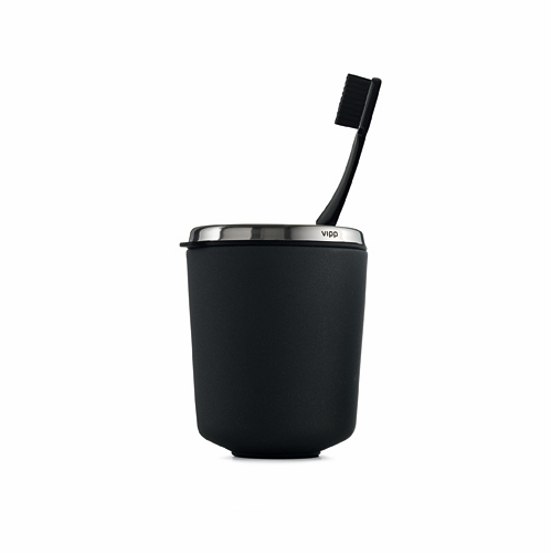 Toothbrush Holder, Black - SOLD OUT