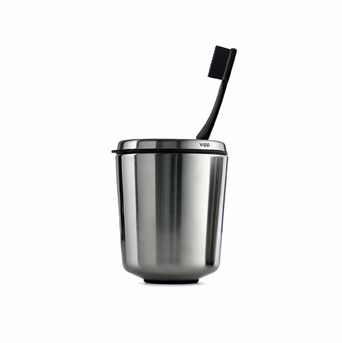 Toothbrush Holder, Stainless Steel - SOLD OUT