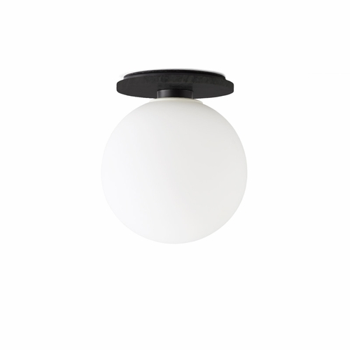 TR Bulb Ceiling/Wall Lamp Low, Black