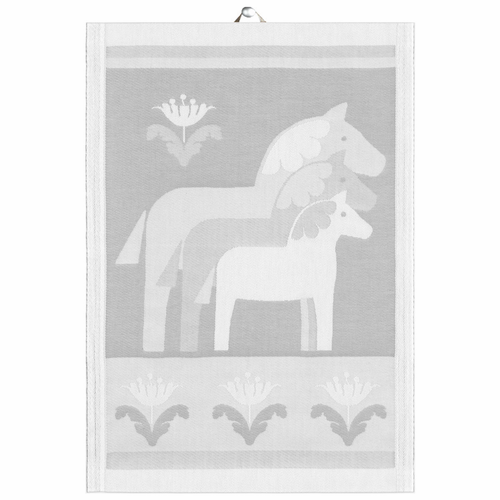 Tre Dalahästar 19 Tea Towel, Small