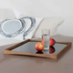 TurningTray (Small), Kimono Red by Finn Juhl