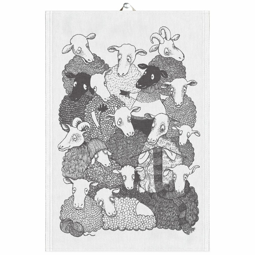 Ullis Tea Towel, 14 x 20 inches
