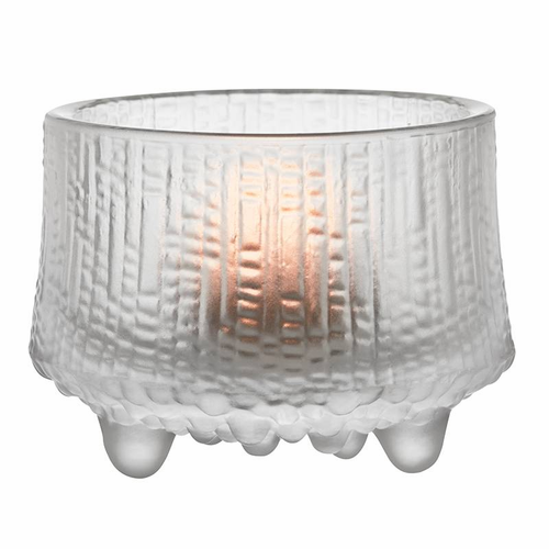 "Ultima Thule Tealight Candleholder 2.5"", Matte Frosted"