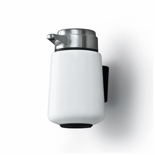 Wall Mounted Soap Dispenser, White - SOLD OUT