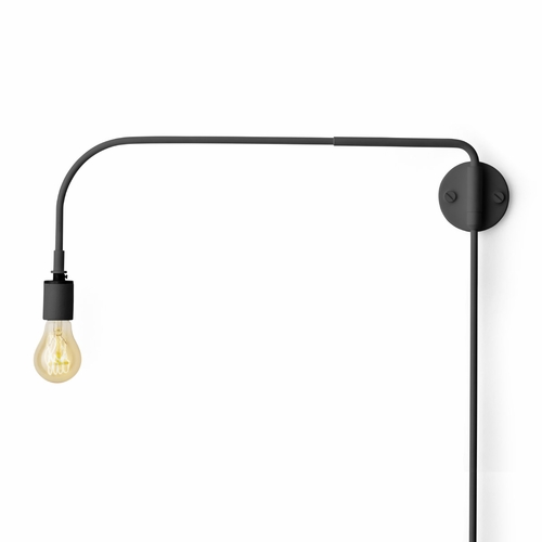 Warren Wall Lamp, Black