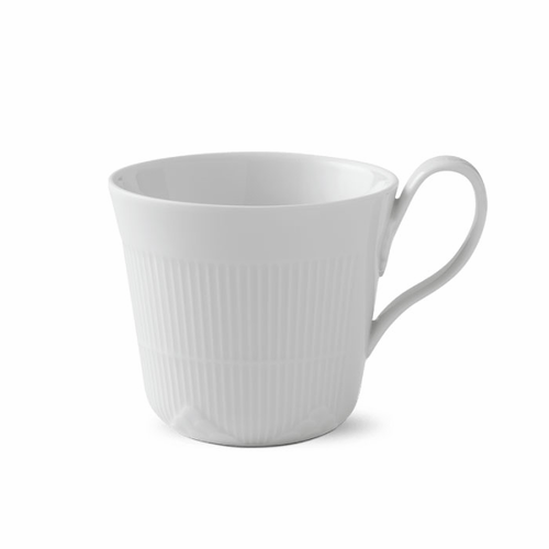 White Elements High Handle Mug, 12oz