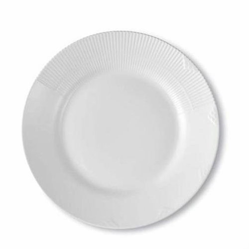 White Elements Luncheon Plate