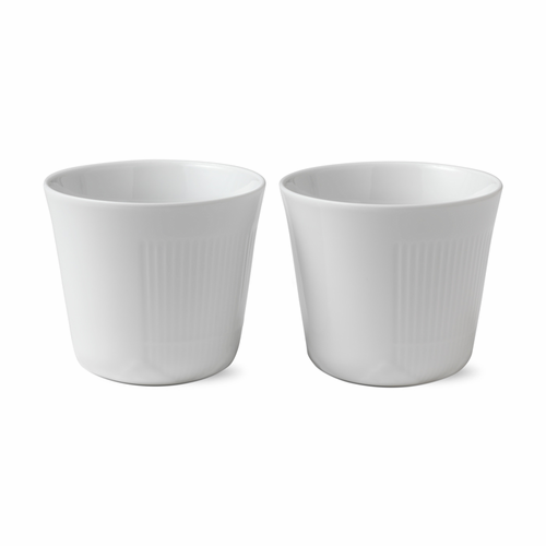 White Elements Multi Cup Set of 2, 8.5oz
