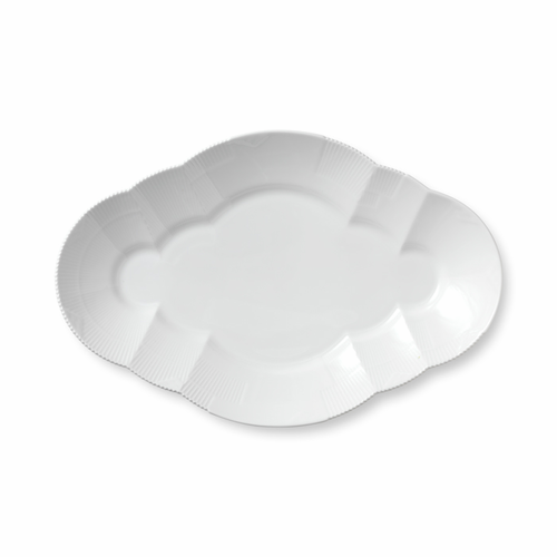 White Elements Oval Platter, Large